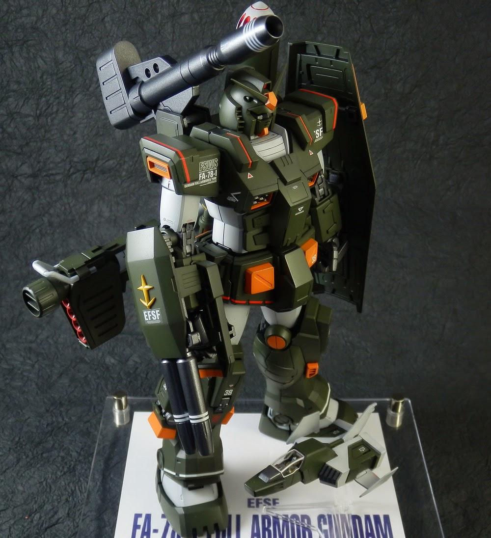 Gundam Guy Mg 1 100 Fa 78 1 Full Armor Gundam Customized Build