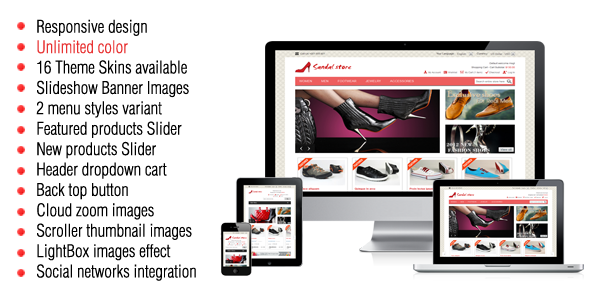 Best Shoe Store Magento Themes And Templates | My Webtricks