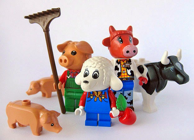 http://bensbargains.com/thecheckout/awesomeness/the-weirdness-that-is-lego-fabuland/