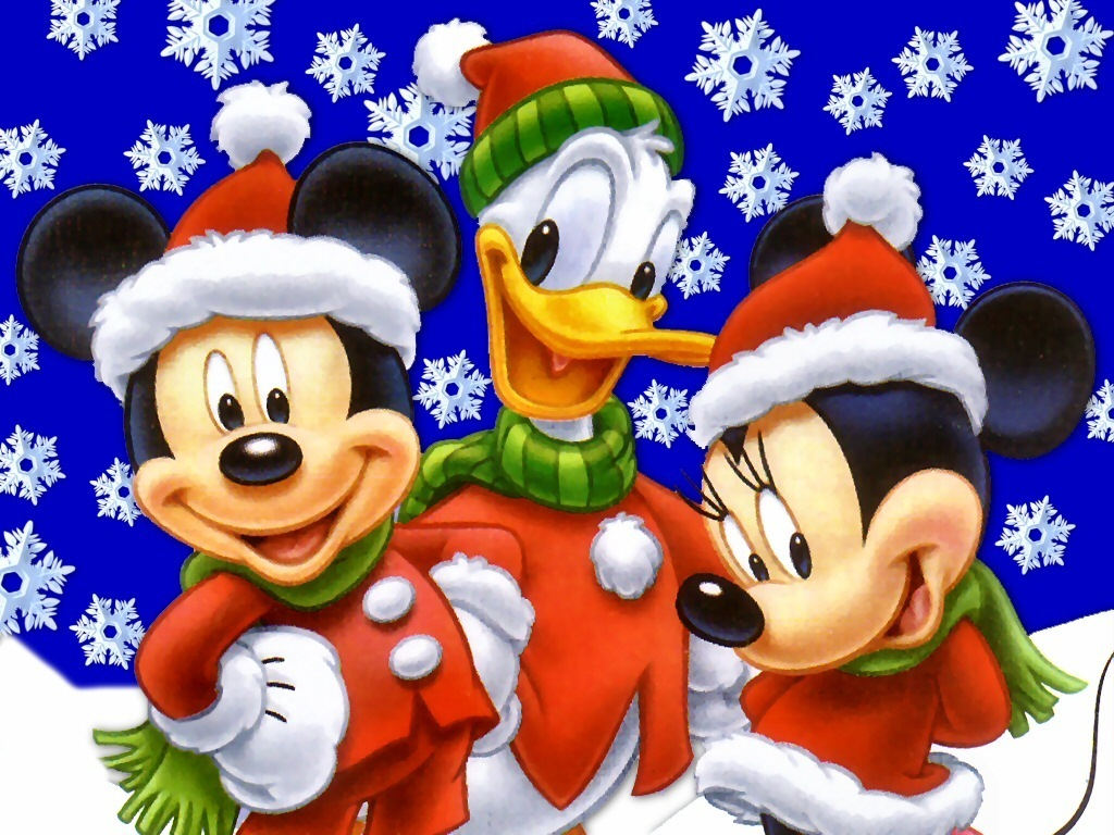 Funny wallpapersHD wallpapers: mickey mouse christmas wallpaper