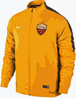 jaket nola As roma online, jual baju bola as roma, ready jaket roma murah, terbaru 2014/2015