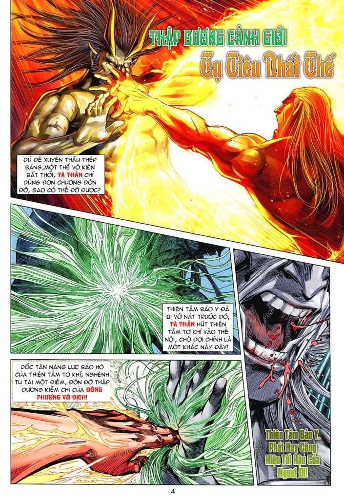 Hoả Vân Tà Thần II chap 99 - Trang 4