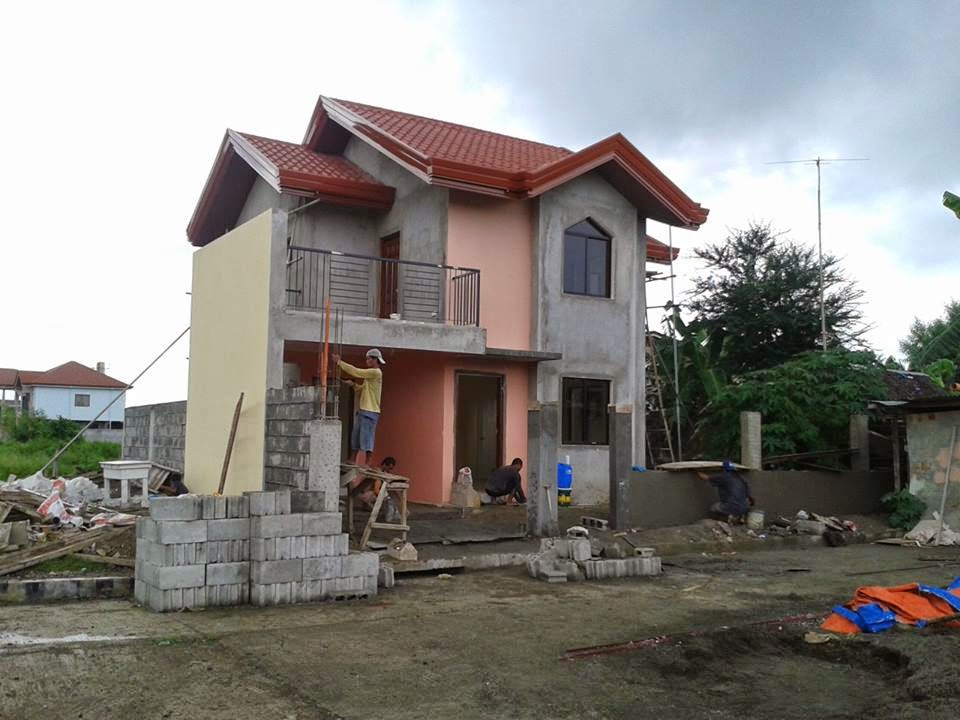 Simple 2 story house design philippines joy studio for Simple two story house