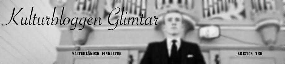 Kulturbloggen Glimtar
