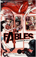 Book cover of Fables: Legends in Exile by Bill Willingham