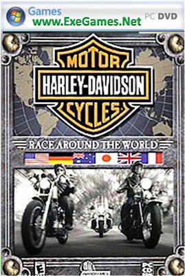 Harley Davidson Race Around The World
