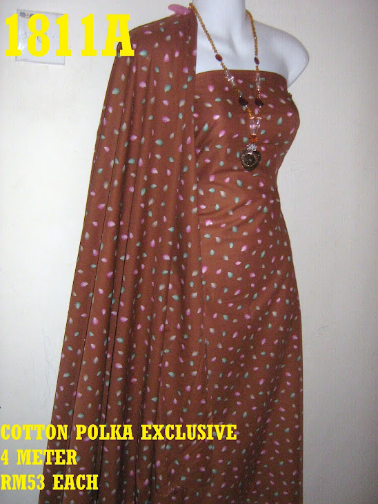 CPE 1811A: COTTON POLKA EXCLUSIVE, 4 METER