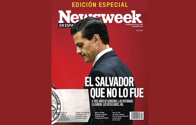 Peña Nieto, El salvador que no lo fue: Newsweek