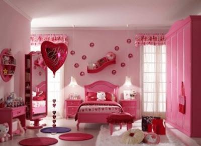 C mo decorar una habitaci n de color rosa decorar tu for Como remodelar tu habitacion