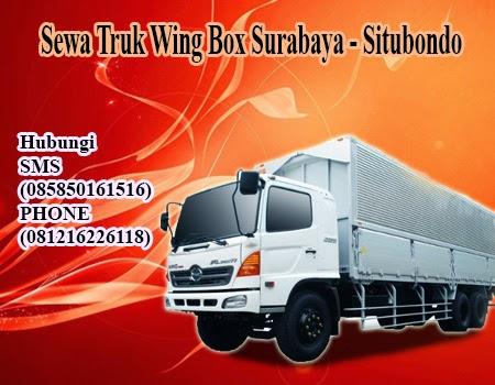 Sewa Truk Wing Box Surabaya - Situbondo