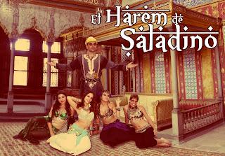 """El Harem de Saladino"""" ,ultimo espectaculo creado por La nariz Roja"""