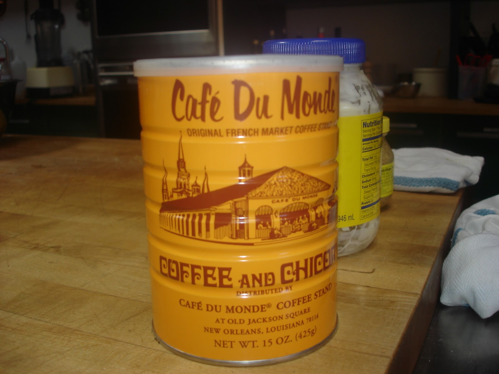 ... du Monde's chickery coffee, used to make a NOLA style Cafe Au Lait