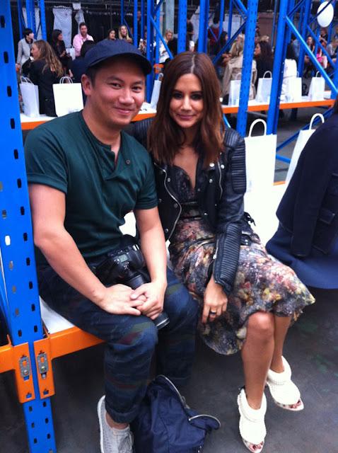 Christine Centenera and Tommy Ton at MBFWA 2013
