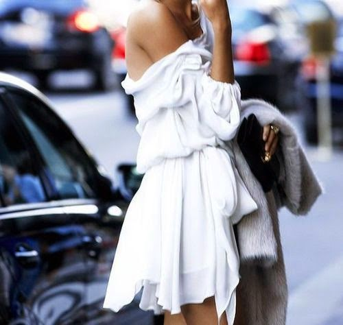 white dress how to wear