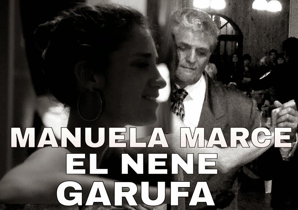 OMAR SANCHEZ Y MANUELA MARCE ACTUARON PARA EL CLUB DE TANGO EL 12 DE JULIO DEL 2014