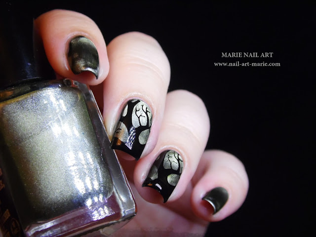 Nail Art Into The Woods8