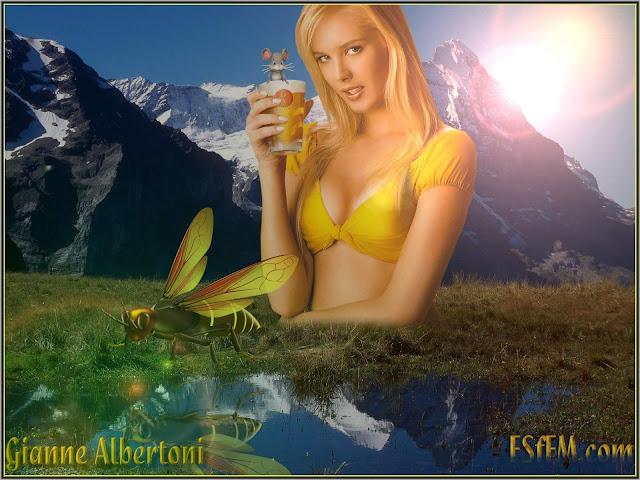 Brazilian Model Gianne Albertoni - Wallpapers Gallery