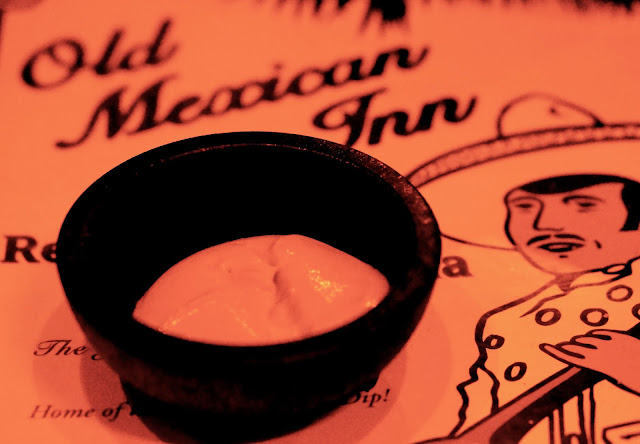 OLD MEXICAN INN, CORSICANA TEXAS, ORANGE DIP