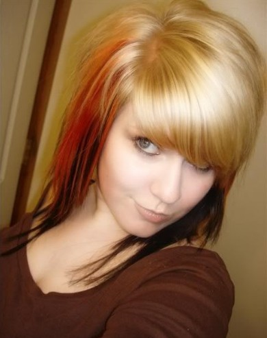 cute emo haircuts for girls with long. cute long haircuts for girls.