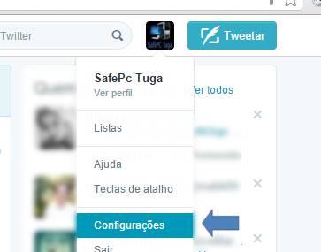 Conectar Twitter ao Facebook
