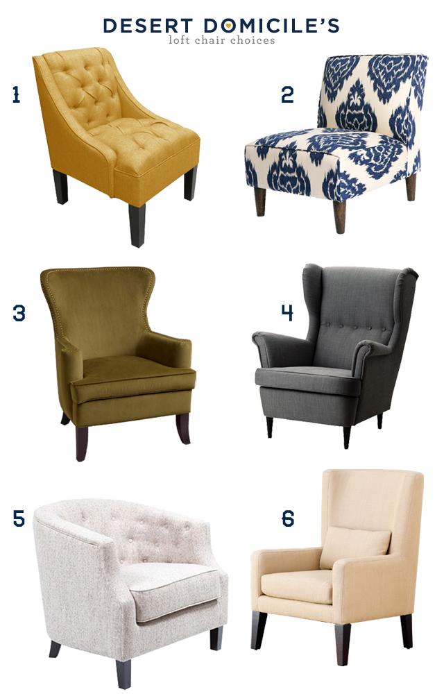 Merveilleux Elliott Wingback Chair