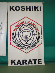 Official flag of the Koshiki Karate