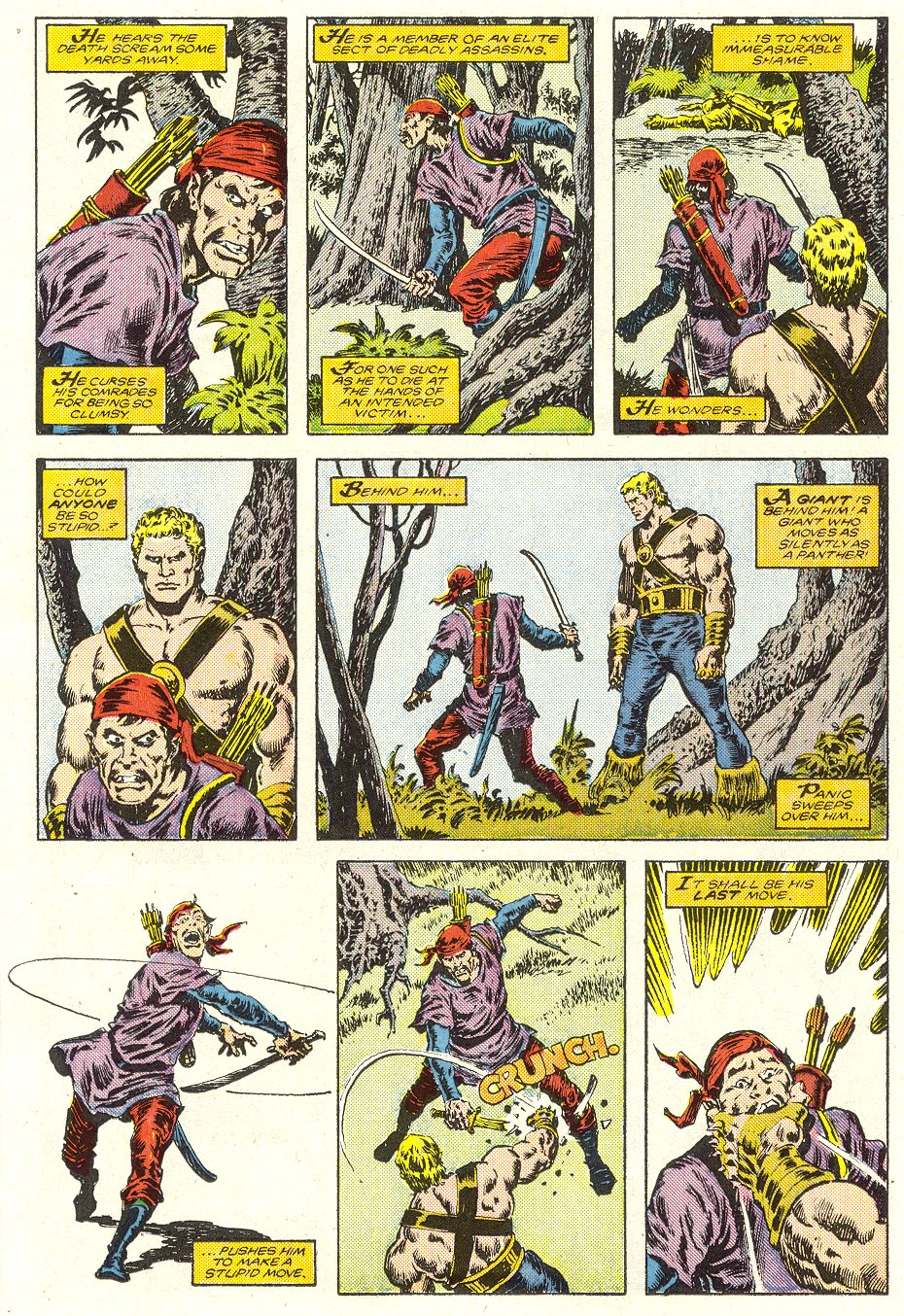 Conan the Barbarian (1970) Issue #187 #199 - English 17