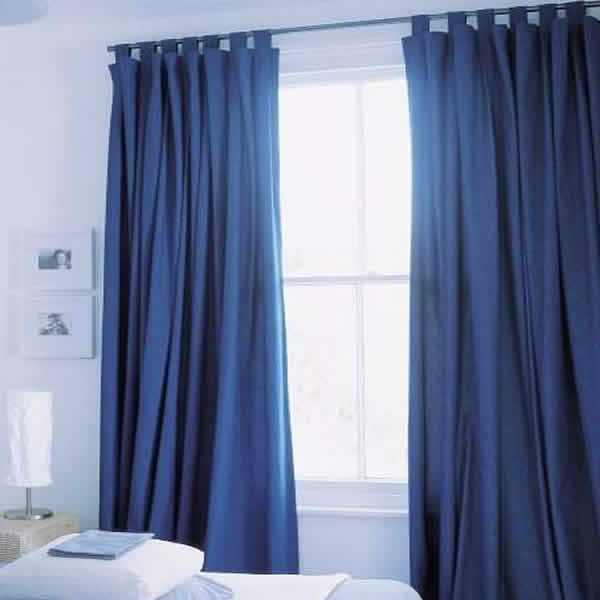 Con las manos en la aguja telas con propiedades especiales - Como coser cortinas paso a paso ...