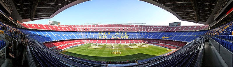 camp nou fútbol club barcelona