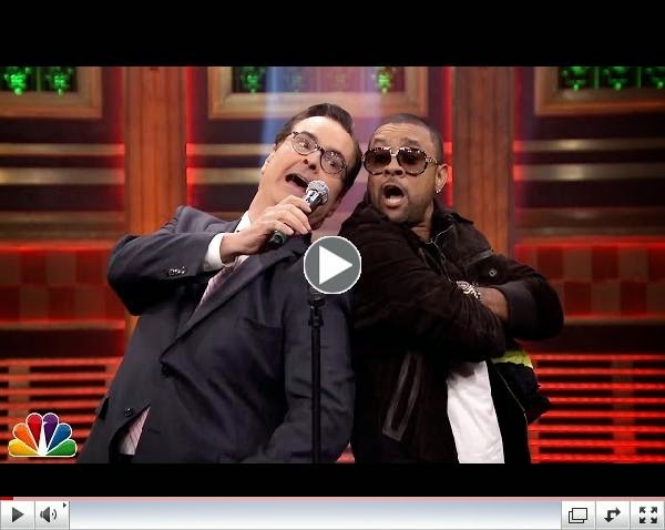 Dancehall / Reggae Superstar Shaggy Appears on The Tonight Show with Jimmy Fallon / www.hiphopondeck.com