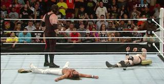 WWE Raw, Kane, Seth Rollins, John Cena