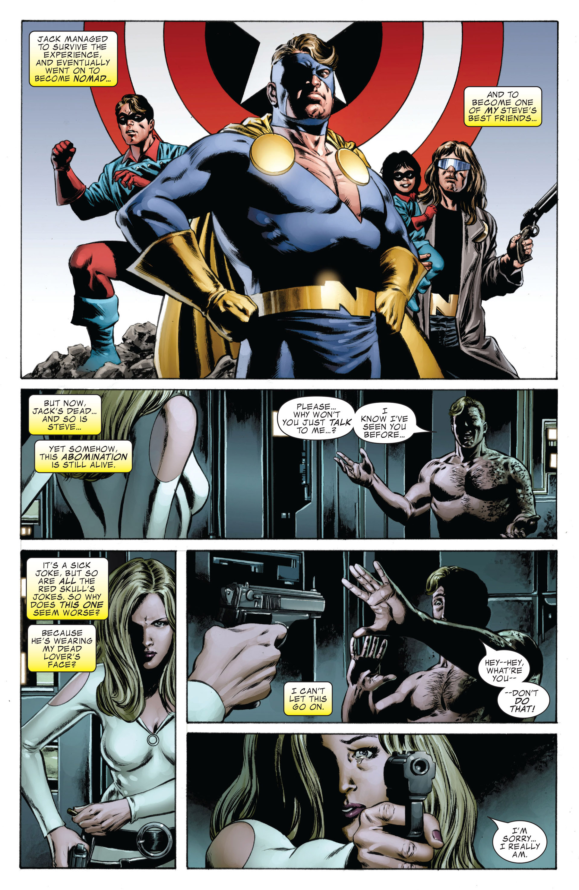 Captain America (2005) Issue #38 #38 - English 6