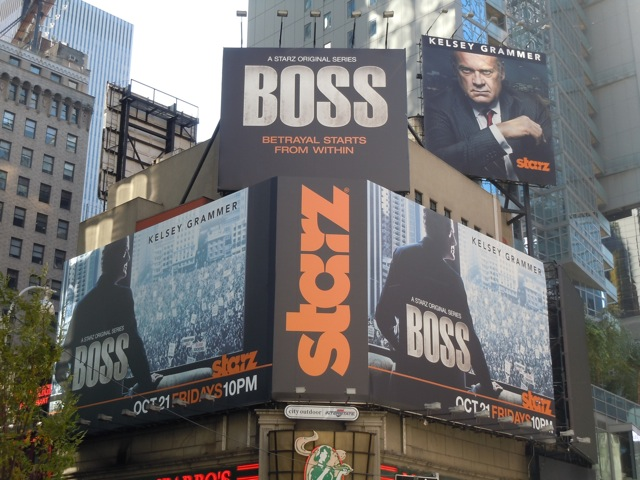Boss billboards NYC