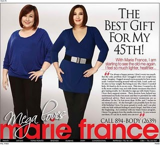 Sharon Cuneta's Marie France Photoshopped Billboard Ad