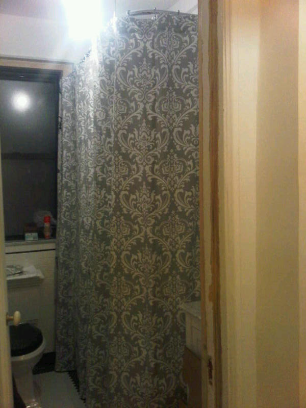 guerilla shopper nyc custom made shower curtains