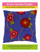 Sea of Roses Embroidery Pattern PDF
