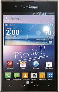 LG VS950 - Intuition 4G Mobile Phone - Black (Verizon Wireless)