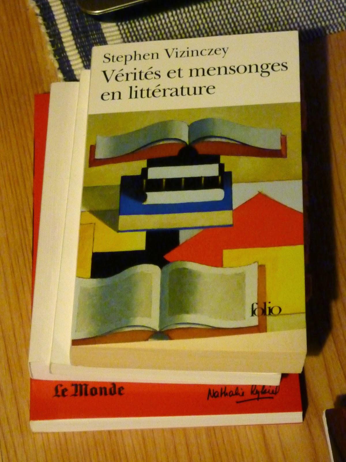 Vérités et mensonges en littérature - Stephen Vizinczey