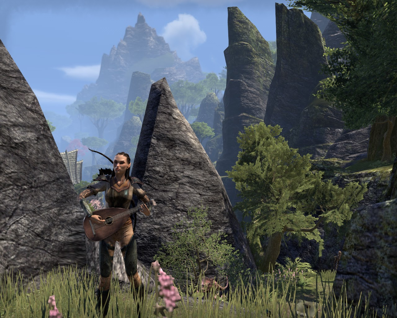 Elder Scrolls Online Screen Shot Lute