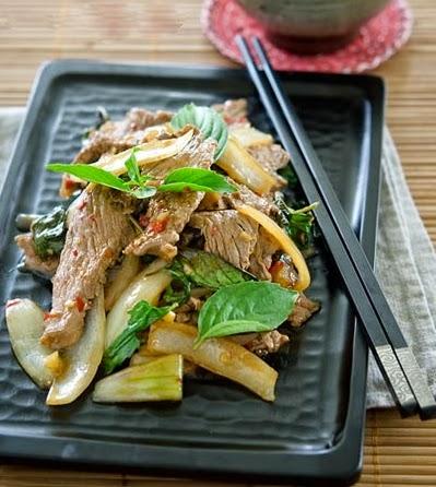 Món thịt bò xào Húng quế đơn giản mà lại ngon