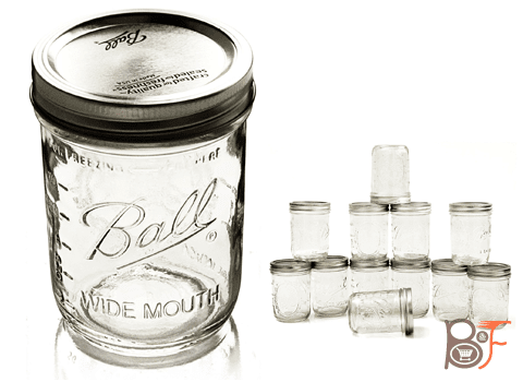 ball 16 oz mason jars. ball mason jars wide-mouth can or freeze - 16 oz 12pk