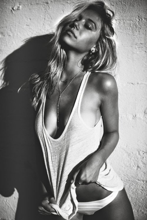 Alexis Ren modelo linda sensual fotografia Lucas Passmore