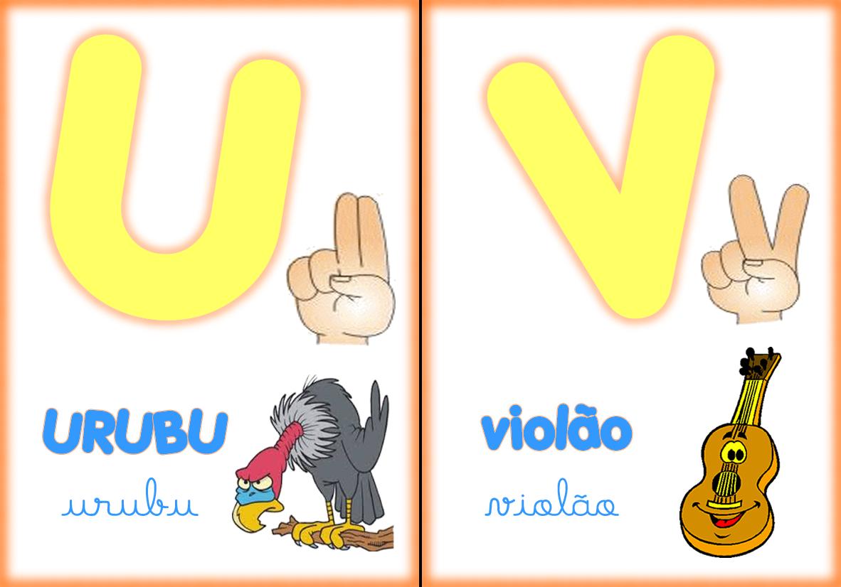 Amanda Duda, Pedagogia e Libras: Alfabeto ilustrado em Libras
