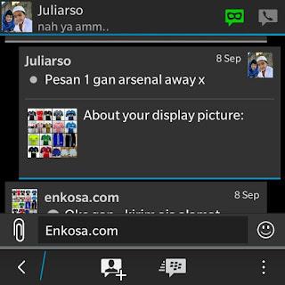 Konfirmasi pesanan jersey Juliarso di enkosa sport toko online terpercaya lokasi di jakarta pasar tanah abang