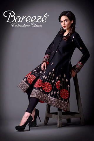 Fashion She9 Classic Winter Collection 2013-2014 | Embroidered Classic Winter Collection 2013-2014 By Bareeze | Winter Collection 2013-2014