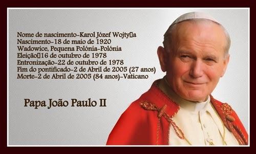 Mensagens Que A Vida Ensina Papa João Paulo Ii Mensagens E Frases