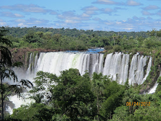Iguazu Falls – Upper Trail Photo 1, Iguazu National Park,  Argentina.