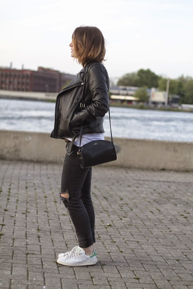 juste juliette, maje, hm, baby bump, style the bump, apc, half moon bag, stan smith, zara, blog mode lille, fashion blogger