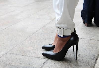 Lusting Over: Saint Laurent Ankle Cuff Pumps