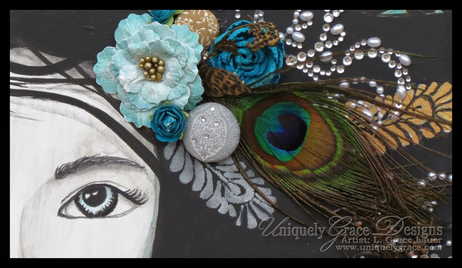 http://blog.uniquelygrace.com/2014/05/troisieme-presenting-peacock-ballet-canvas-diptych.html